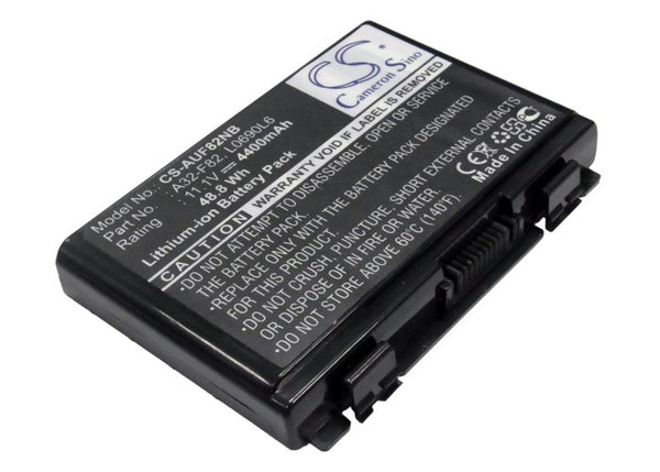 Battery for Asus F52, F52A, F52Q, F82, F82Q, F83, F83CR, F83S, F83VF, Ff83s, K40, K40e, K40ij, K40in, K50, K50ab-x2a