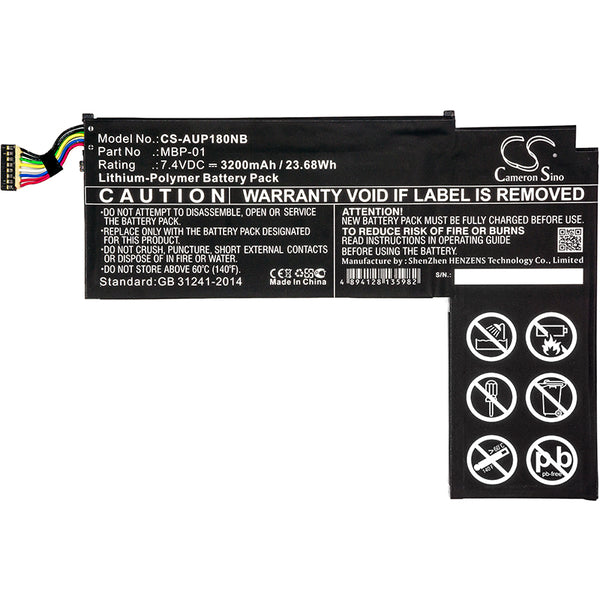 Battery for Asus Transformer AiO P1801, P1801-B037K