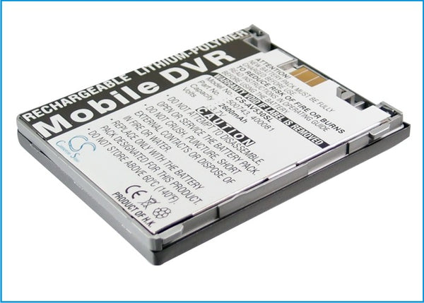 Battery for Archos AV500 Mobile DVR 30GB, AV500 Mobile DVR Series, AV500E, AV530 Mobile DVR 30GB