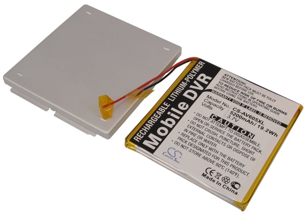 Archos AV605 120GB, AV605 Wifi 120GB Replacement Battery