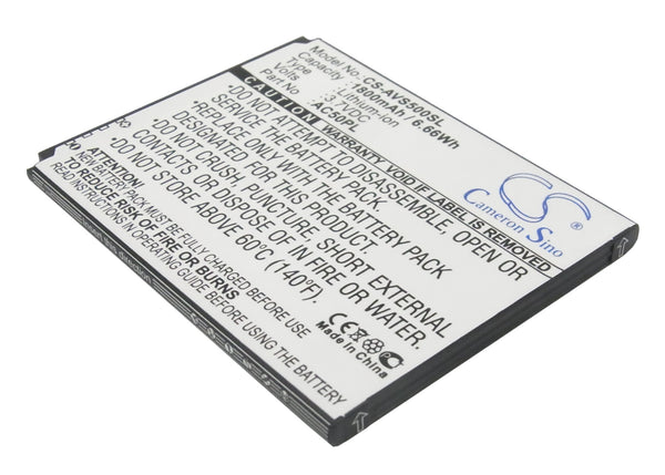 Archos 50, 50 Helium 4G, 50 Platinum, A50C Platinum, Platinum 50 Replacement Battery