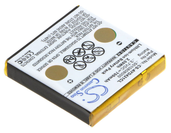 Battery for Avaya D4, D4 Office, FC4, Funkwerk FC4, IH4, Tennovis Integral D4