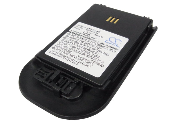 Ascom D62 DECT, DH4-ACAB Replacement Battery