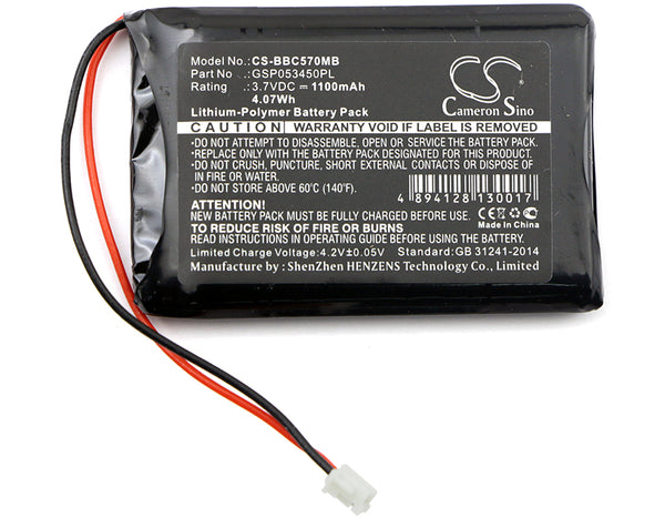 Battery for Babyalarm BC-5700D, Neonate BC-5700D
