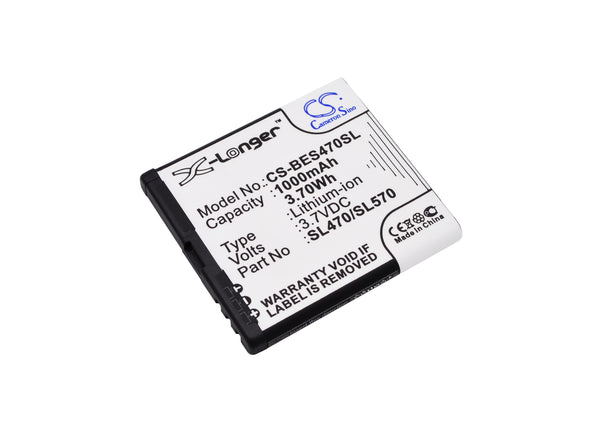 Bea-fon SL470, SL570, SL670_EU001W, SL670A Replacement Battery