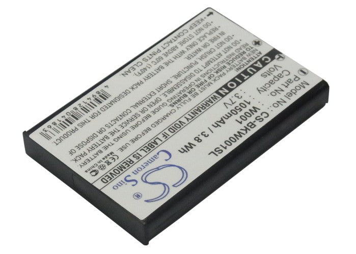 Battery for SMC Skype Wifi Phone, WSKP100