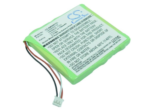 Tiptel DECT Line 660, DECT Line 670, DECT Line 750 Replacement Battery