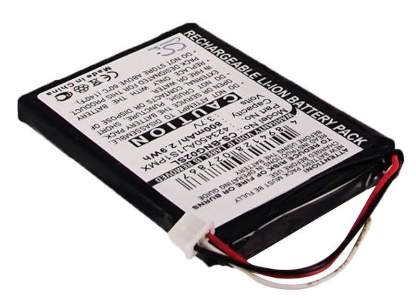 Battery for Blaupunkt TravelPilot 100, 1300, 200, 2310