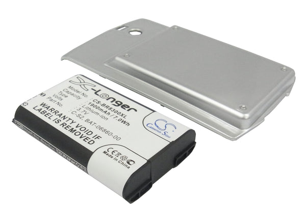 Blackberry Curve 8300, Curve 8310, Curve 8320 Replacement Battery
