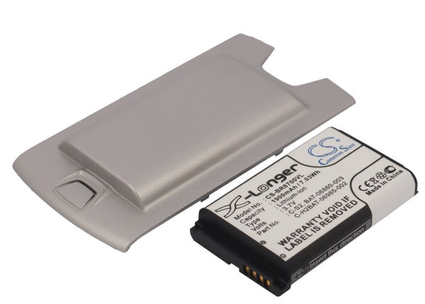 Blackberry 8707V Replacement Battery