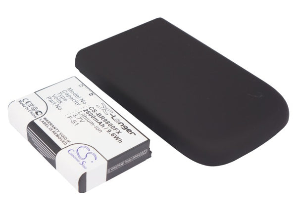 Battery for Blackberry Blackberry Torch, Torch 9800