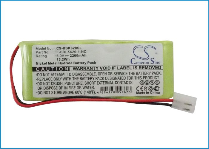 Battery for BOSCH Somfy BD5000, Somfy BD6000