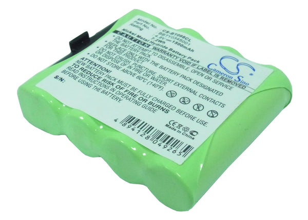 Telefunken CA6, CC4, CC5, CC6, CS4, CS5, CS6 Replacement Battery