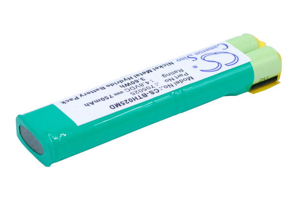 Battery for BrandTech AutoRep E pipette, HandyStep Repeating Pipette