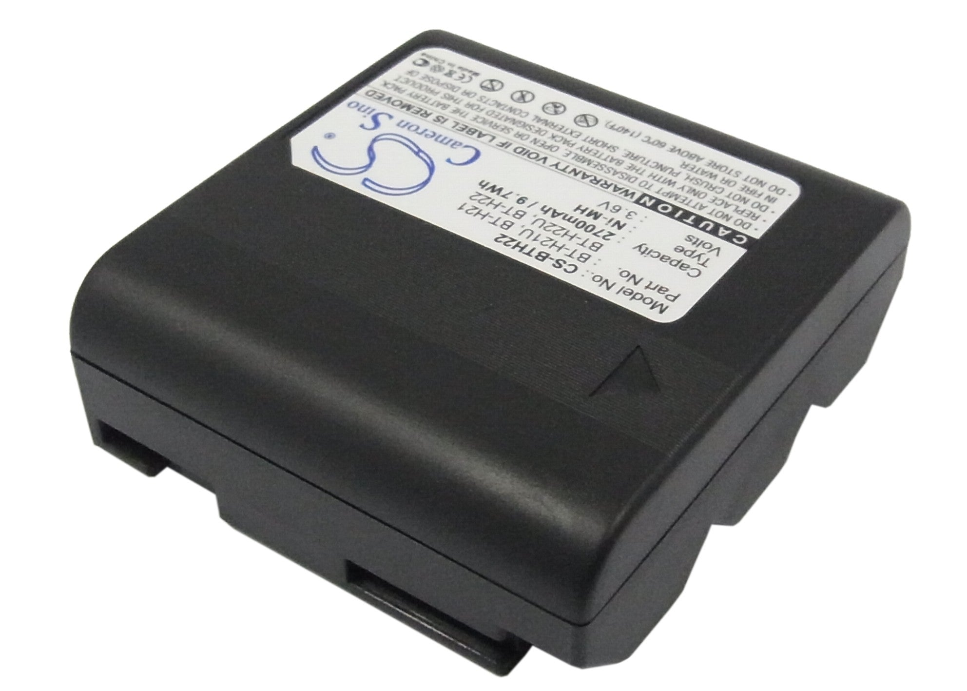 Replacement Battery for Sharp VL-8 VL-A10H VL-A111H VL-A111 VL-A10S VL-8888 VL-A10 VL-A10U VL-A111S 2700mAh VL-A10E VL-A110U