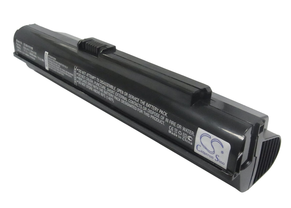Battery for Fujitsu M2010 Netbook (6600mAh)
