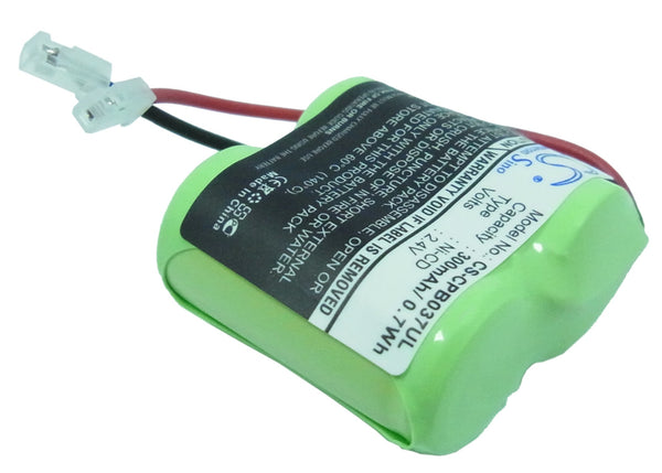 Universal Rechargeable Battery Pack of 2/3AA x 2