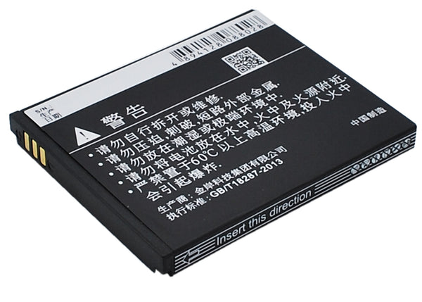 Battery for Coolpad 5216S, 7230, 7230B