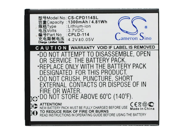 Coolpad 8079 Replacement Battery