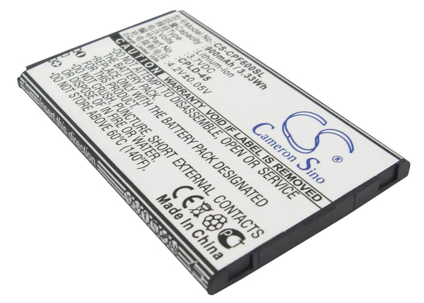 Coolpad 8830, E506, F600, F618, S180 Replacement Battery