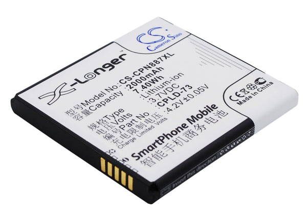 Battery for Coolpad 8870