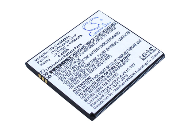 CUBE1 G44, G44S Replacement Battery