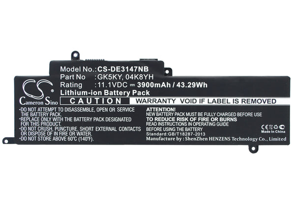 "DELL Inspiron 11 3147, Inspiron 11 3147 3000 11.6"", Inspiron 13 7347 Replacement Battery"