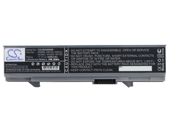 DELL Latitude E5400, Latitude E5410, Latitude E5500, Latitude E5510, Latitude E5550 Replacement Battery