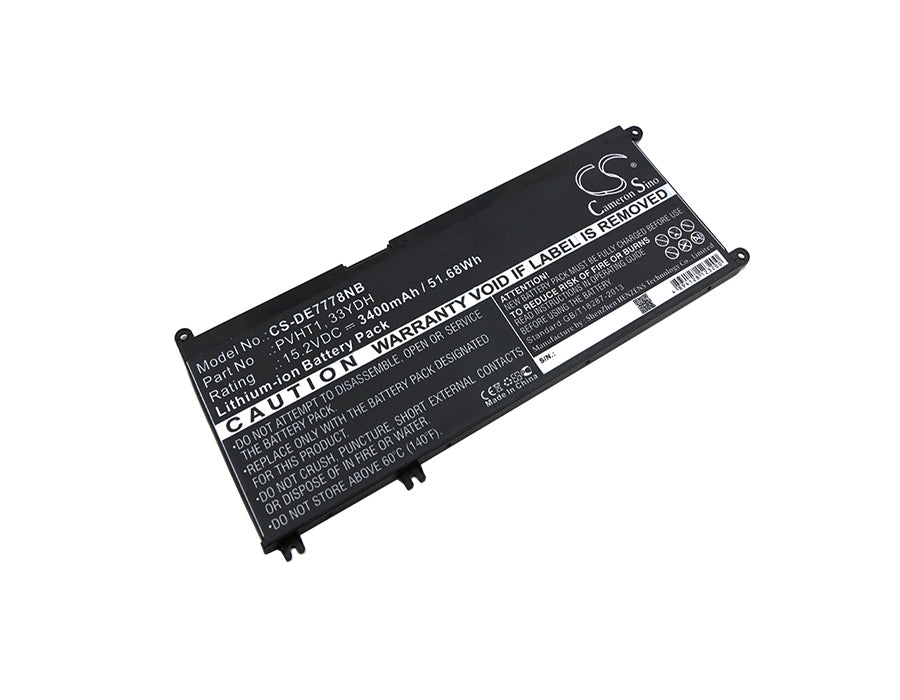 Battery for DELL Inspiron 17 7000, Inspiron 17 7778, Inspiron 7778, DNCWSCB6106B, I7778-0026GRY