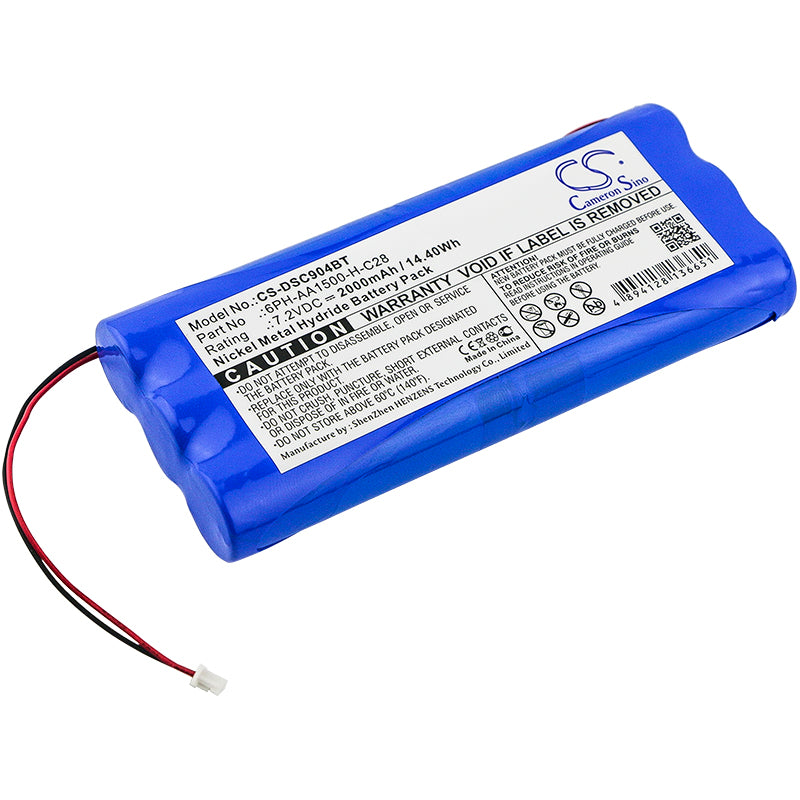 Battery for DSC PowerSeries 9047 Self-Contained Wireless Alarm System, SCW9045