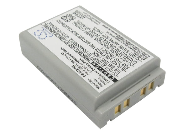 Battery for Casio DT-X7, DT-X7M10E, DT-X7M10R