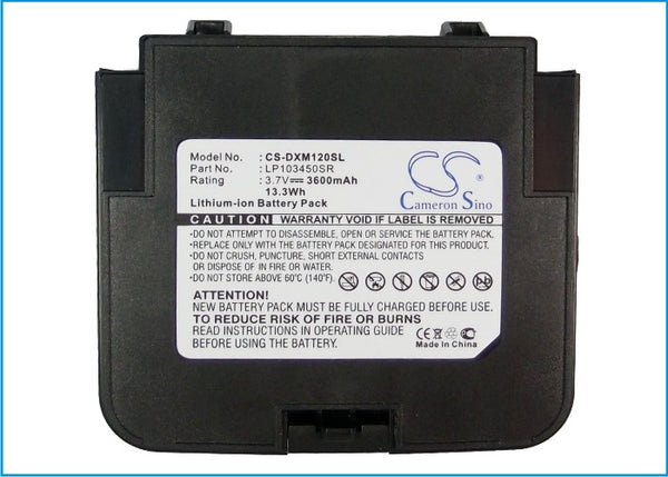 Battery for Delphi SA10120, XM Satellite Radio SA10120 Roa