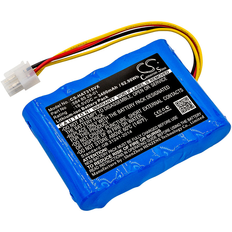 Battery for Husqvarna Automower 310 Modell 2015, 2016, 2017, Automower 315 Modell 2015, 2016, 2017 (3400mAh)