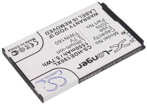 Battery for T-Mobile G2 Touch (1550mAh)