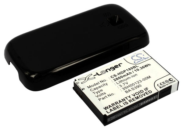 T-Mobile Touch Pro 2, Touch Pro II (2800mAh) Replacement Battery