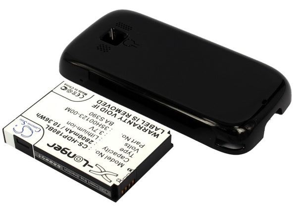 Battery for Sprint 35H00123-00M, 35H00123-02M, BA S390, RHOD160 (2800mAh)