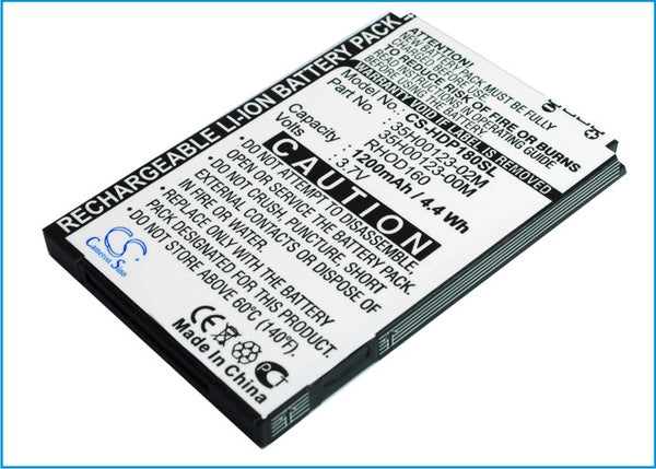 Battery for Sprint Arrive, EVO 4G, S511, Snap, Touch Pro 2, Touch Pro II (1200mAh)