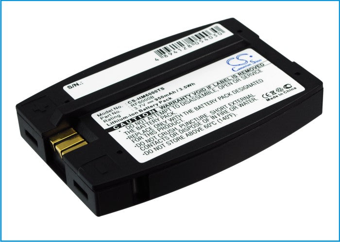 Battery for HME 6000 I.Q, Blue, Com6000, HS400, HS500, HS6000, RFT, SYS6000, SYS6100, Wireless IQ