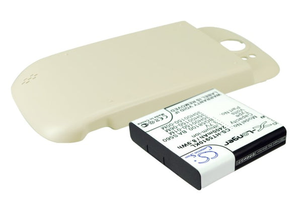 Battery for T-Mobile Doubleshot, Mytouch 4G Slide, PG59100 (2400mAh)
