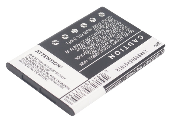 Battery for HTC 7 Mozart, A315C, A3360, A3366, A3380, A6390, A7272, BB96100, Desire Z, F5151, Mozart, PC10100, T8698, Vision (1350mAh)