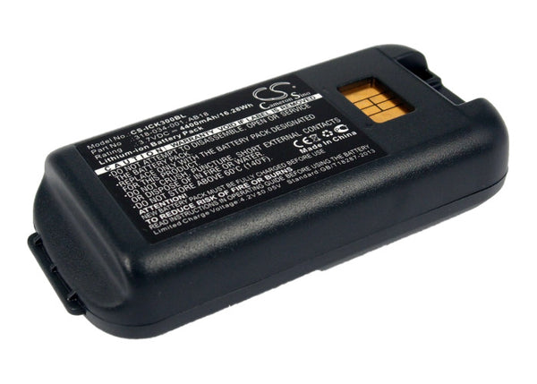 Intermec CK3, CK3A, CK3C, CK3C1, CK3N, CK3N1, CK3R, CK3X (4400mAh) Replacement Battery