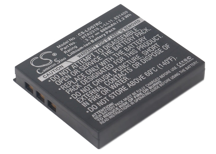 Battery for Logitech G7 Laser Cordless Mouse, M-RBQ124, MX Air