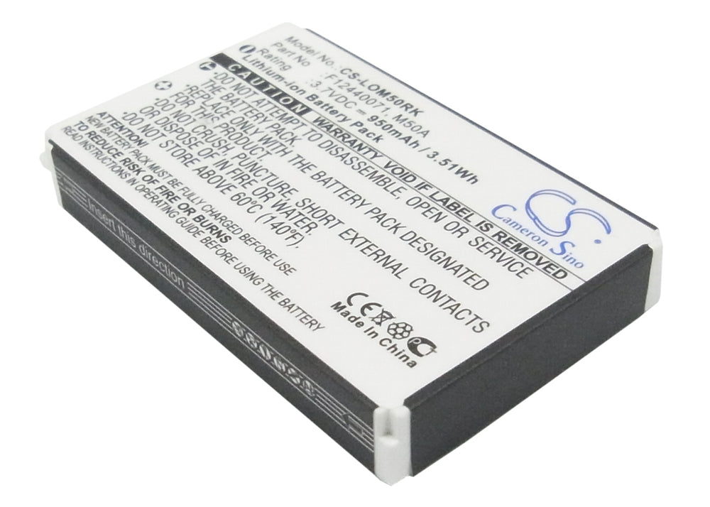 Battery for Logitech diNovo Edge, DiNovo Mini, Y-RAY81