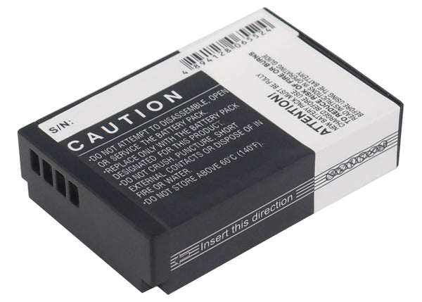 Battery for Canon EOS 100D, EOS M, EOS M2, Rebel SL1 Digital (820mAh)