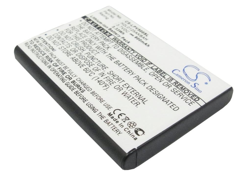 Battery for Lawmate PV-500 DVR Recorder