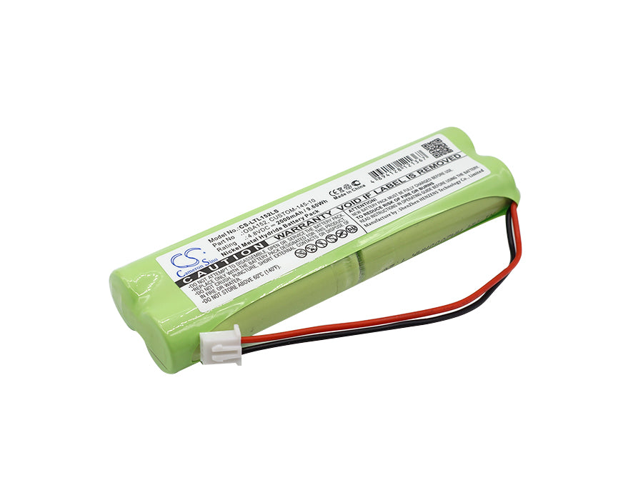 Battery for Lithonia Exit Signs, D-AA650BX4 LONG, Daybright D-AA650BX4