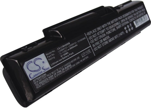 Lenovo IdeaPad B450, IdeaPad B450A, IdeaPad B450L (8800mAh) Replacement Battery