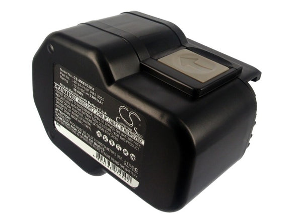 Milwaukee 0502-23, 0502-25, 0502-52, 12V Power-Plus, B12, BF12, BX12, BXL12, BXS12, LokTor P12PX (3300mAh) Replacement Battery