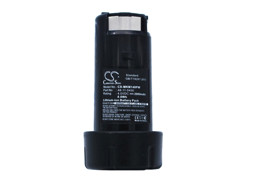 Battery for Milwaukee 0490-20, 0490-22