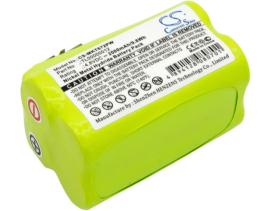 Battery for Makita 6722D, 6722DW, 6723DW